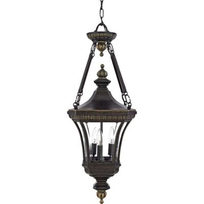Quoizel Devon Outdoor Large Hanging Lantern in Imperial Bronze