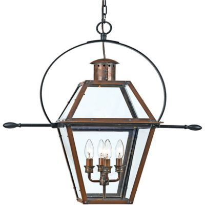 Aged Copper Outdoor Lighting