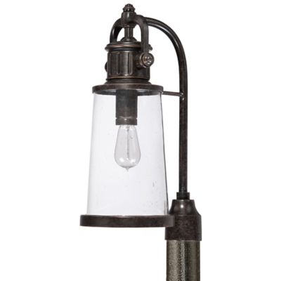 Quoizel Steadman Outdoor Post Lantern in Imperial Bronze