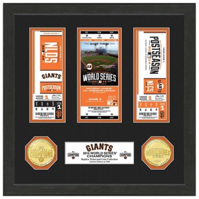 MLB San Francisco Giants 2014 World Series Champions Ticket Collection
