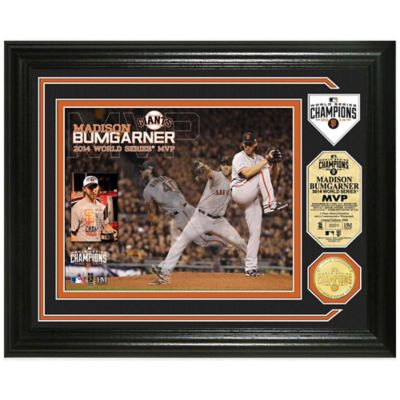 MLB San Francisco Giants 2014 World Series Champions MVP Photo Mint