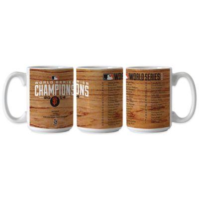 MLB San Francisco Giants 2014 World Series Champions Roster Mug