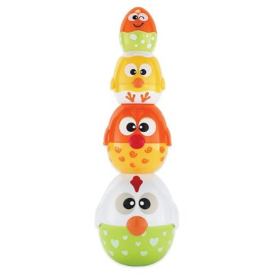 International Playthings earlyears™ Chicken and Egg Stackers