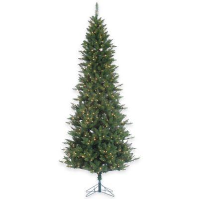 9-Foot x 48-Inch Narrow Fir Tree Pre-Lit with 700 Clear Lights
