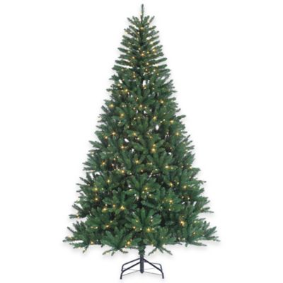 8-Foot Hudson Pine Tree Pre-Lit with 700 Clear Lights
