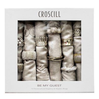 Croscill Ring and Napkin Set