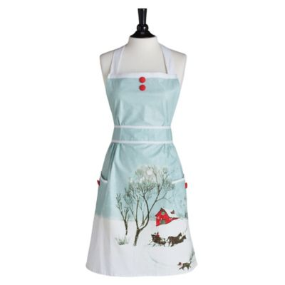 Jessie Steele Home for the Holidays Doris Apron
