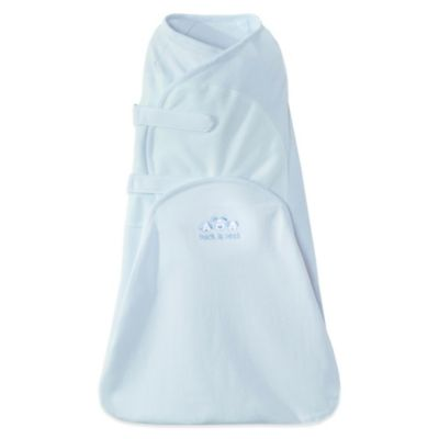 HALO® Newborn SwaddleSure™ Cotton Adjustable Swaddling Pouch in Blue
