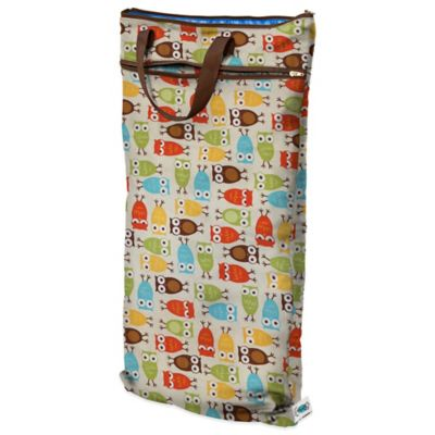 Planet Wise Hanging Wet/Dry Bag in Owl