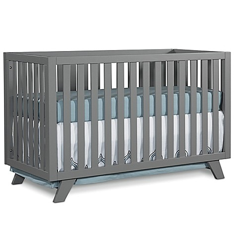 child craft soho 4 in 1 convertible crib in grey buybuy