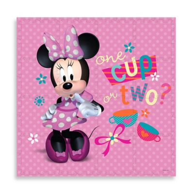 "Disney® Minnie Mouse ""One Cup or Two?"" Puzzle Play Mat"