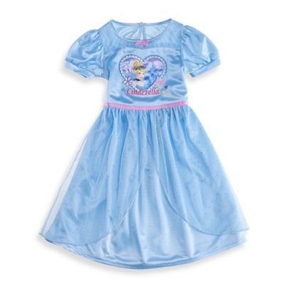 Disney® Cinderella Size 2T Ruffle Dress-Up Gown in Light Blue
