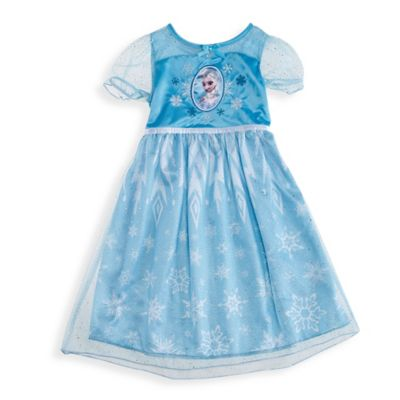 Disney® Frozen Size 3T Elsa Ruffle Dress-Up Gown in Teal