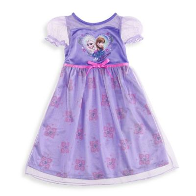 Disney® Frozen Size 2T Elsa and Anna Sister Dress Up Gown in Pink/Purple