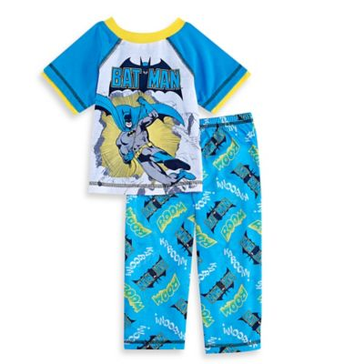 DC Comics™ Batman Size 2T 2-Piece Pajama Set in Blue