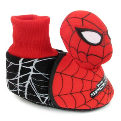 Marvel Spider-Man Size 12-24M Sock Top Headed Slipper