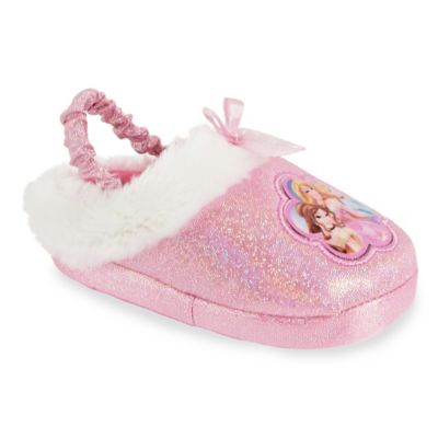 Disney® Princess Size 2-3T Clog Slipper in Pink