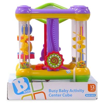 Busy Baby Activity Center Cube