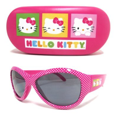 """Hello Kitty"" Kids' 2-Piece Sunglasses & Case Set in Pink"