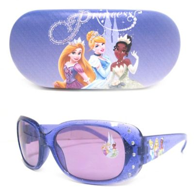 "Disney® ""Princess"" Kids' 2-Piece Sunglasses & Case Set in Purple"