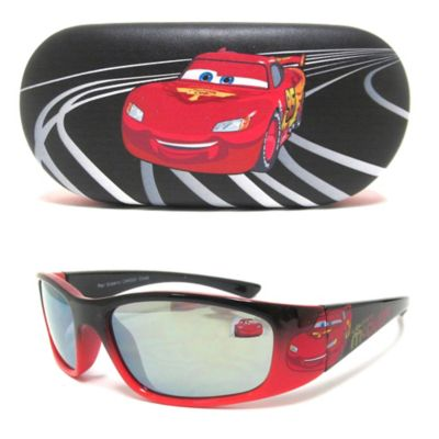 Black/Red Sunglasses