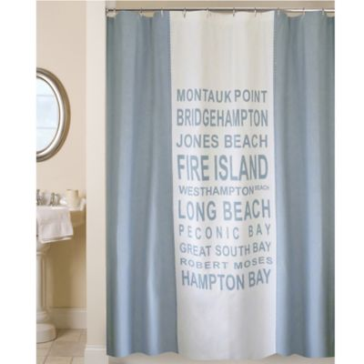 Park B. Smith® Long Island Shower Curtain