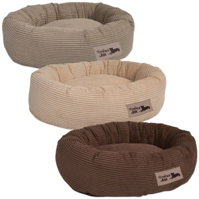 Jax & Bones SlumberJax Corduroy Small Pet Donut Bed in Honey