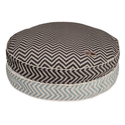 Jax & Bones SlumberJax Vibe Medium Pet Circular Pillow Bed in Grey