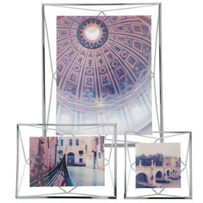 Umbra® Prisma 4-Inch x 4-Inch Photo Frame in Chrome