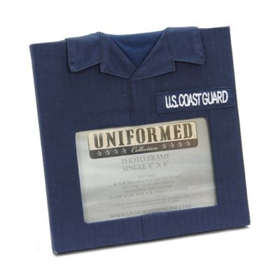 U.S. Coast Guard 4-Inch x 6-Inch Uniformed Picture Frame