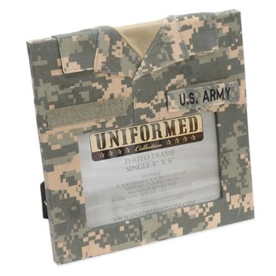 U.S. Army 4-Inch x 6-Inch Uniformed Picture Frame