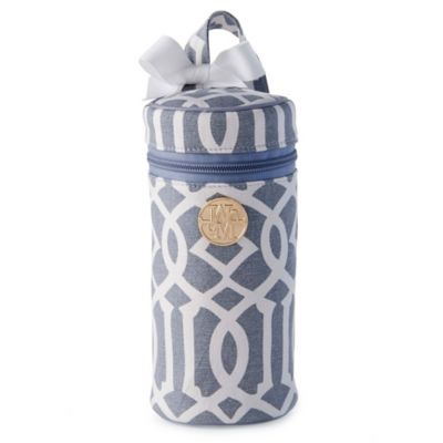Mud Pie® Lil Gulp Bottle Carrier in Grey