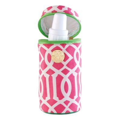 Mud Pie® Lil Gulp Bottle Carrier in Pink/Green