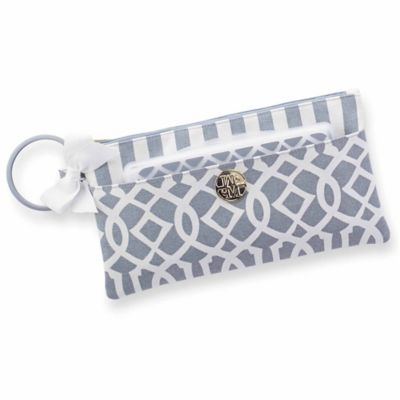 Mud Pie® Lil Biter Bangle Bag in Grey
