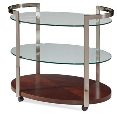 Bassett Mirror Company Tea Cart