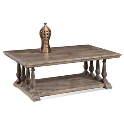 Bassett Mirror Company Pemberton Rectangular Cocktail Table