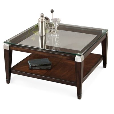 Bassett Mirror Company Dunhill Square Cocktail Table