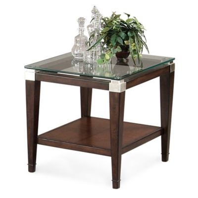 Bassett Mirror Company Dunhill Rectangular End Table