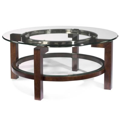 Bassett Mirror Company Oslo Round Cocktail Table