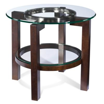 Bassett Mirror Company Oslo Round End Table