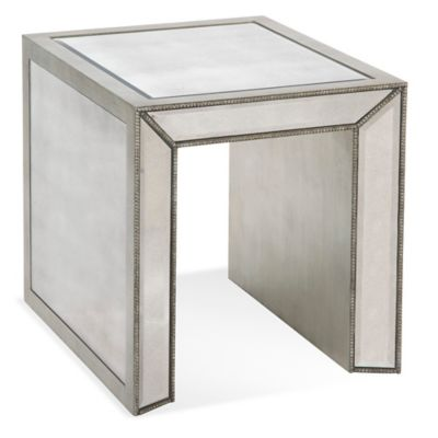 Bassett Mirror Company Murano Rectangular End Table