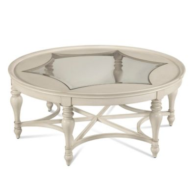 Bassett Mirror Company Sanibel Round Cocktail Table
