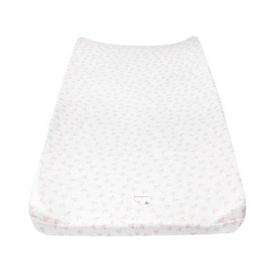 Burt's Bees Baby® Honeybee 100% Organic Cotton Changing Pad Cover in Blossom
