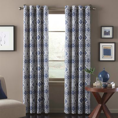 Marrakech 108-Inch Window Curtain Panel in Blue