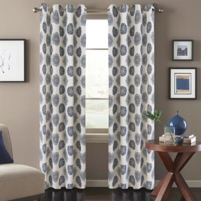 Orion 108-Inch Window Curtain Panel in Blue