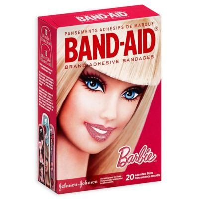 Johnson & Johnson® 20-Count Barbie Assorted Bandages