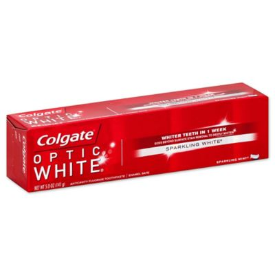 Colgate® 5 oz. Optic White Toothpaste in Sparkling Mint