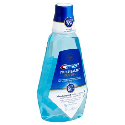 Crest® 33.8 oz. Pro-Health For Life Mouth Rinse in Smooth Mint