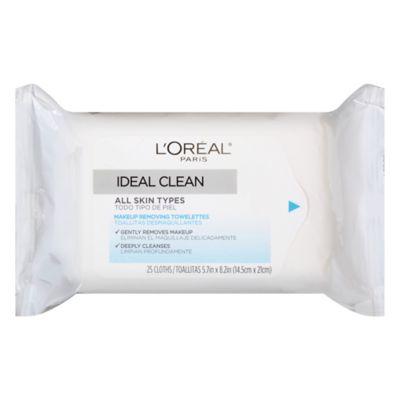 L'Oréal® Paris Ideal Clean™ 25-Count All Skin Types Makeup Removing Towelettes