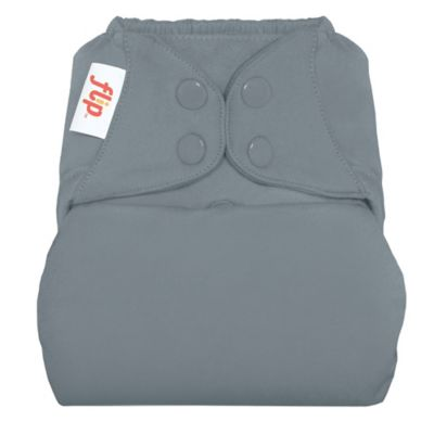 Flip™ Diaper Cover with Snap Closure in Armadillo